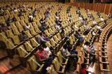El centro cultural reabrió sus puertas con las estrictas medidas sanitarias para evitar contagios