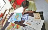 El caricaturista Eduardo Soto se prepara para una tarea de varios meses: catalogar las obras y ejemplares del Museo de la Caricatura y la Historieta