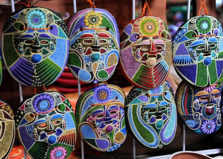 Pintar Artesanías Mexicanas Una Gran Tradición Familiar