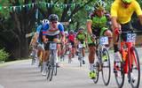 El evento se corre de la cabecera municipal a Santo Domingo Ocotitlán, y forma parte de Grand Prix que organizan las autoridades para promover esta disciplina deportiva