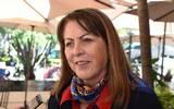 Margarita González Saravia, titular de la Secretaría de Turismo y Cultura
