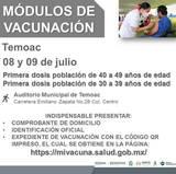 Se destinarán más de 13 mil dosis para los municipios de Jonacatepec, Jantetelco, Temoac y Zacualpan