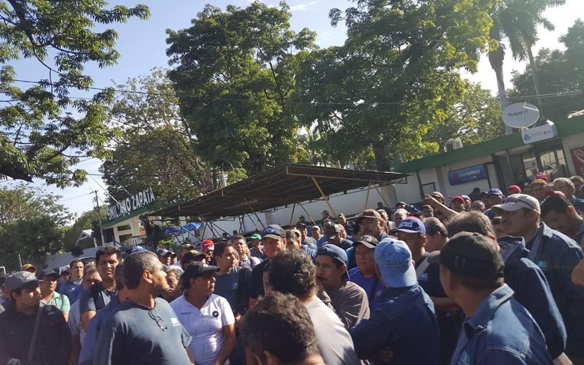 Obreros realizan paro en el ingenio de Zacatepec - El Sol de Cuernavaca