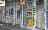 La mayoría de los negocios en No Reelección están cerrados