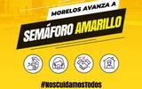 Morelos pasa al semáforo de riesgo epidemiológico amarillo a partir del próximo lunes