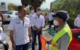 Este domingo, el candidato a la presidencia municipal de Cuernavaca por el Partido Encuentro Solidario, Morena y Nueva Alianza realiza un recorrido