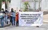 Marcharon desde el Museo Juan Soriano hasta la calle Gándara para llegar al Poder Legislativo