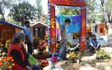 En Ocotepec: Panteón abierto sólo para las ofrendas nuevas