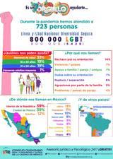 El Consejo Ciudadano para la Seguridad y Justicia de la Ciudad de México informó que aumentó en 394 por ciento el número de reportes de la comunidad LGBTTTI+