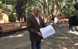 Abogado Miguel Ángel Rosete, defensor de vecinos del barrio de Gualupita en Cuernavaca. Caso Melchor Ocampo.
