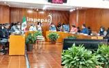 La consejera presidenta, Mireya Gally Jordá, hizo un llamado a todos los representantes de los partidos políticos para que apoyen con el cómputo de Ayala