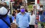 El Gobernador de Morelos, Cuauhtémoc Blanco en Jojutla