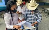 """La candidata de Morena candidata a diputada federal de Morena, ha recorrido los cinco municipios del Distrito 3 de Morelos enfatizó que """"por escrito no se olvida"""""""