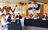 Los seis dirigentes de los partidos políticos acudieron al Encuentro de Partidos de Políticos, organizado por la asociación civil REMO A.C.