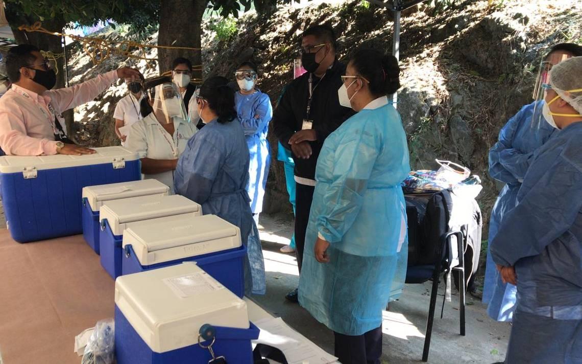 Así se realiza la vacunación contra Covid en Cuernavaca - El Sol de  Cuernavaca