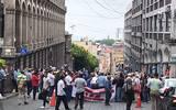 """""""Los jubilados ya no tenemos miedo a nada"""", expresan mientras mantienen cerradas las calles Galeana y Gutemberg"""
