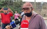 Los manifestantes exigen a la Procuraduría Agraria que destituya al presidente del ejido Juan López