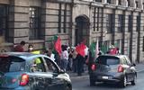 Manifestación en Cuernavaca por parte de Antorcha Campesina