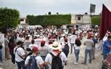 El candidato a la presidencia municipal de Jiutepec por Morena recorrió el fraccionamiento Valle de los Tarianes y la colonia el Edén