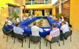 Seguridad, reactivación económica, eficiencia en la administración pública fueron algunos de los temas abordados en la reunión