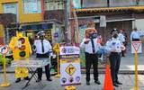 El coordinador de la Policía Vial señaló que lo más común entre los peatones es no cruzar por las esquinas