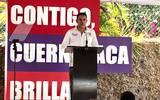 El candidato a la alcaldía de Cuernavaca pidió a los ciudadanos confiar en su proyecto y si es necesario puede firmar ante quien sea para que los cumpla
