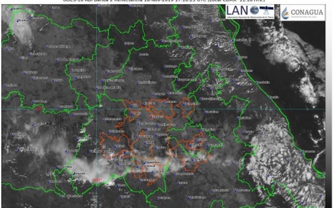Conagua: Lloverá en las próximas horas - El Sol de Cuernavaca