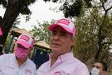 Al pedir el voto para el próximo 6 de junio, el candidato del partido Fuerza por México destacó su experiencia en la administración pública