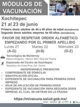 La Brigada Correcaminos precisó que se aplicará la vacuna de Astra Zeneca para el rango de dad de 40 a 49