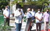 El alcalde de Cuernavaca reconoció la labor de los periodistas en los tiempos difíciles que enfrenta el estado