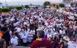 El candidato de Morena agradeció a las personas que asisten diariamente a los recorridos y a los mítines, a pesar de las inclemencias meteorológicas