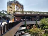 El fuego se registró en el restaurante La Chilanguita ubicado al interior de la plaza comercial